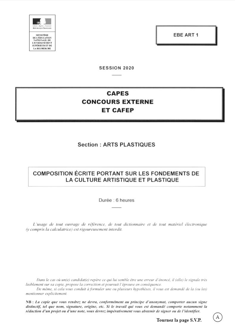 Confusion de l'éducation nationale à cause du Covid-19, le dossier confidentiel contenant le sujet du Capes 2020 a fuité ce matin.